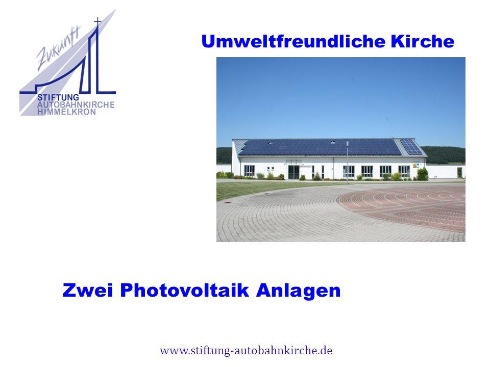 Zwei Photovoltaik Anlagen