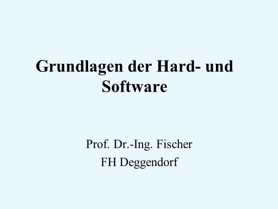 Grundlagen der Hard- und Software