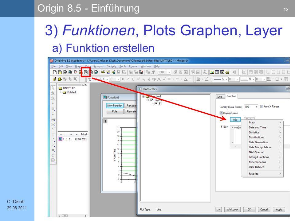3) Funktionen, Plots Graphen, Layer