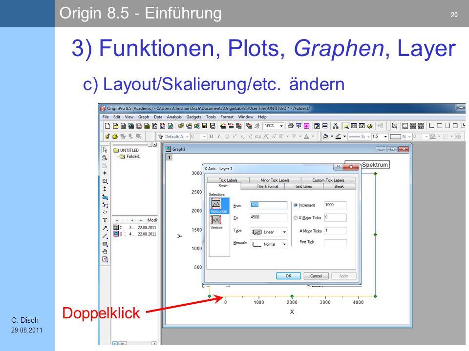 3) Funktionen, Plots, Graphen, Layer