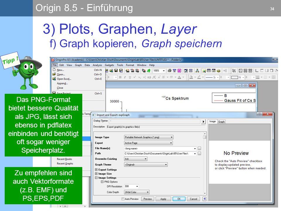 Zu empfehlen sind auch Vektorformate (z.B. EMF) und PS,EPS,PDF
