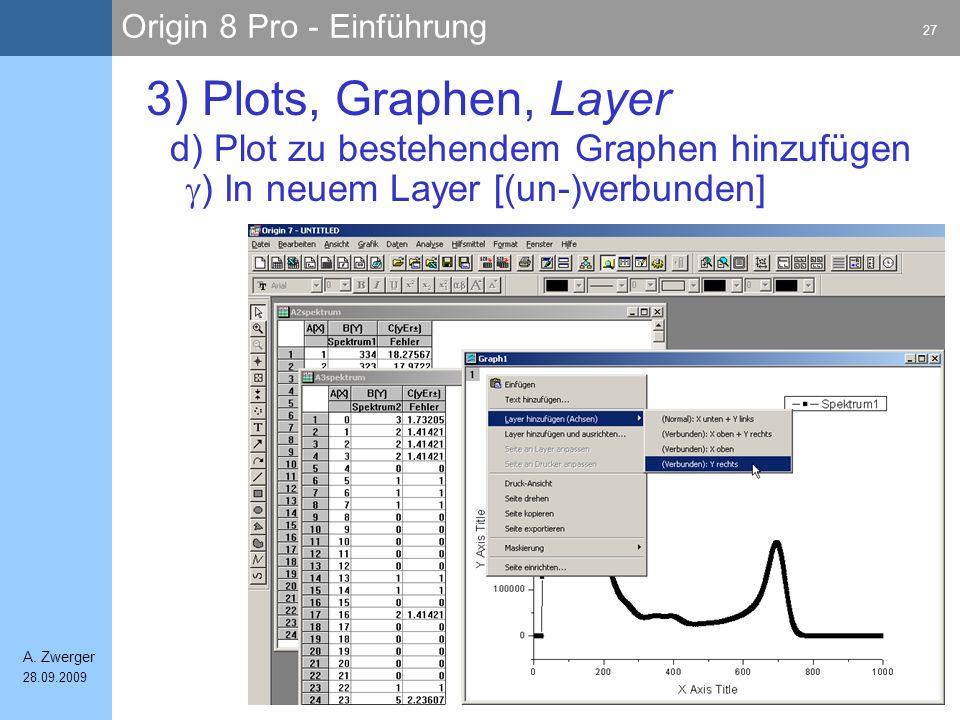 3) Plots, Graphen, Layer d) Plot zu bestehendem Graphen hinzufügen