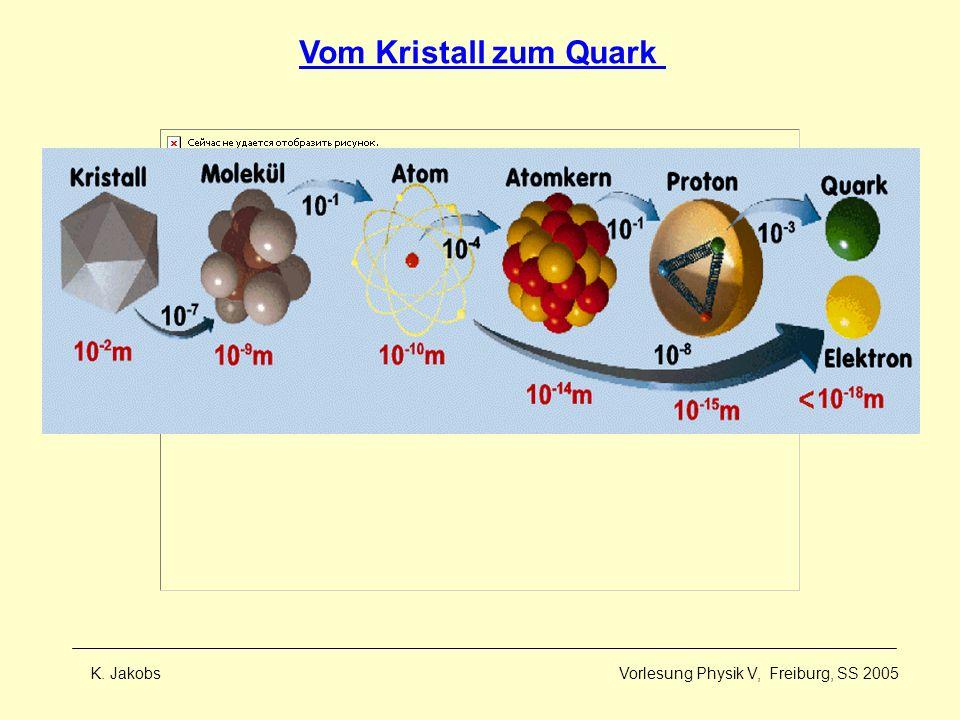 Vom Kristall zum Quark