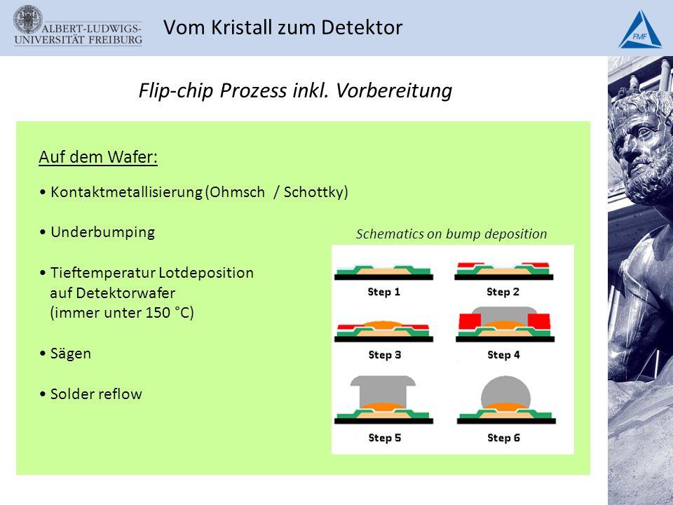Vom Kristall zum Detektor