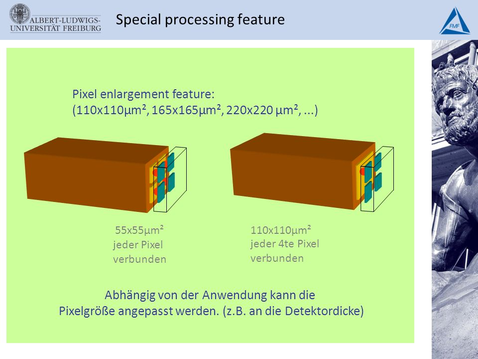 Special processing feature