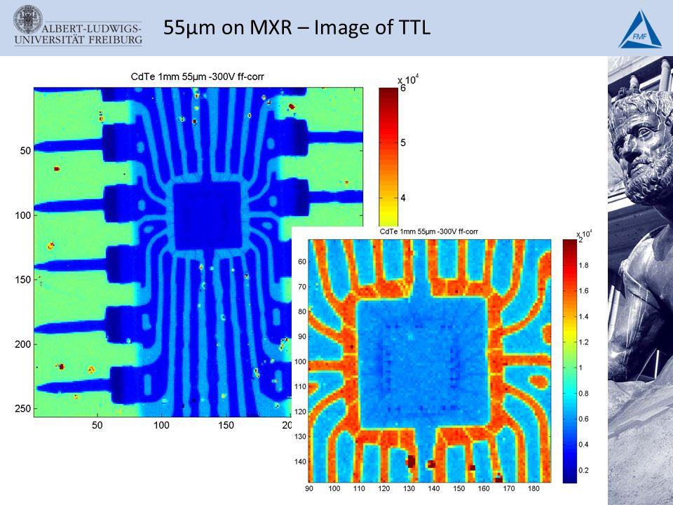 55µm on MXR – Image of TTL