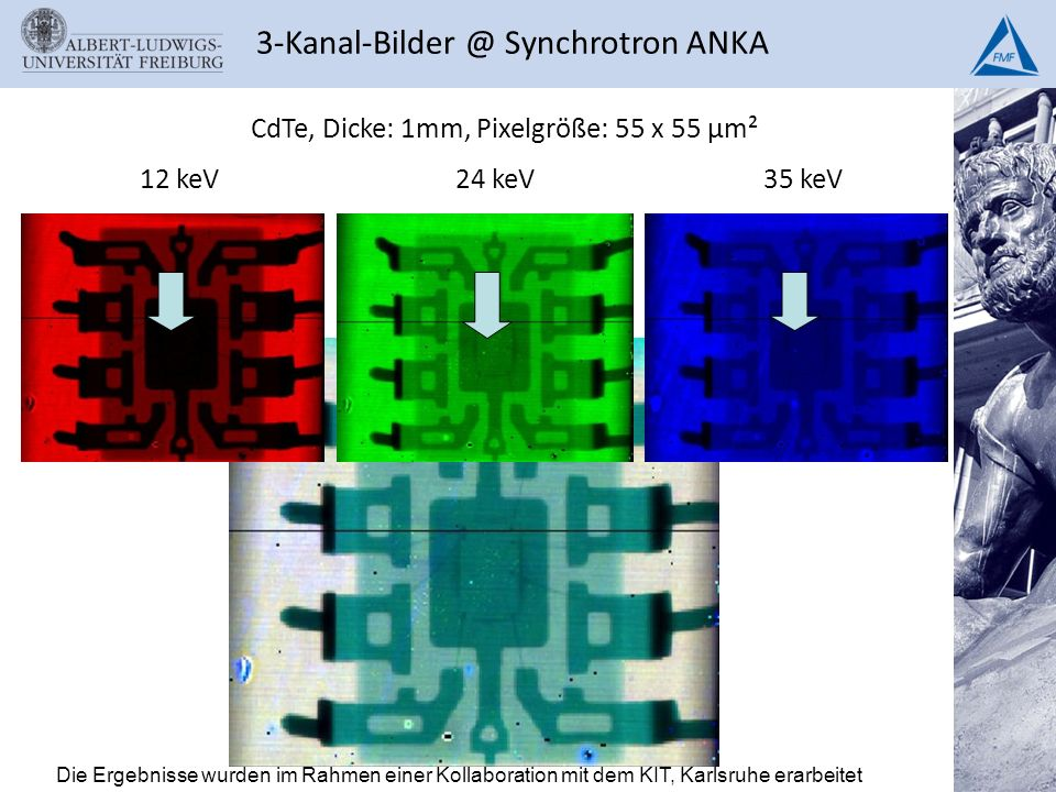 3-Kanal-Bilder @ Synchrotron ANKA