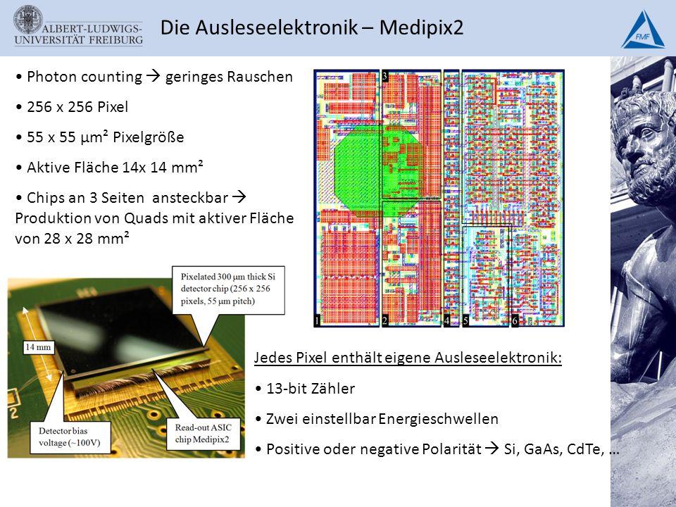 Die Ausleseelektronik – Medipix2
