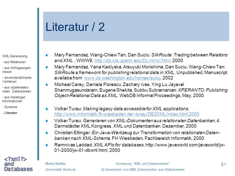Literatur / 2