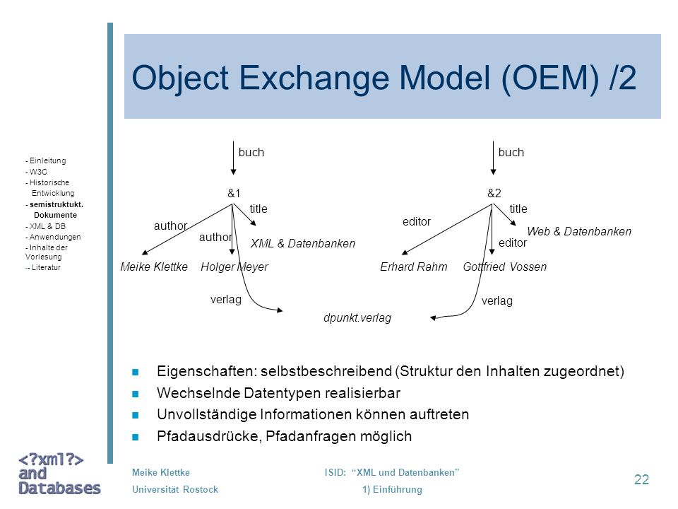Object Exchange Model (OEM) /2