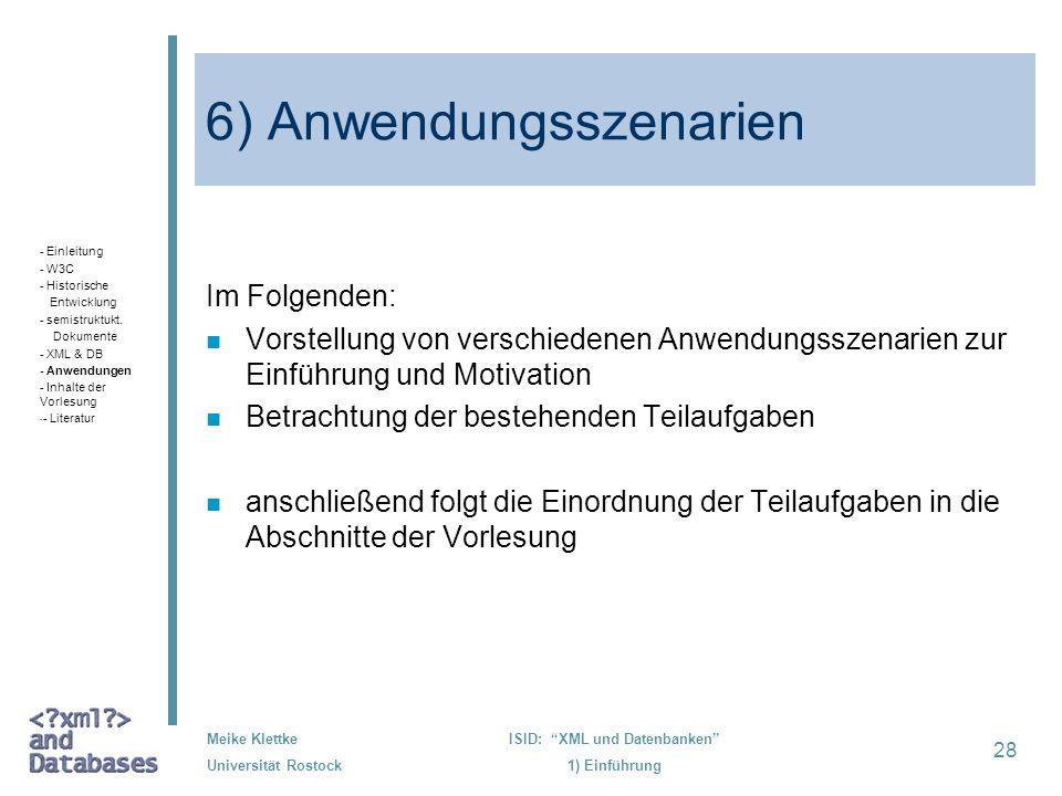 6) Anwendungsszenarien