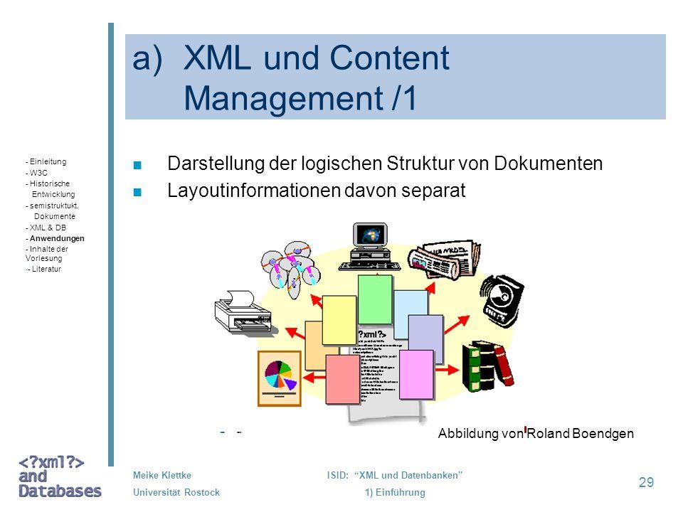 XML und Content Management /1