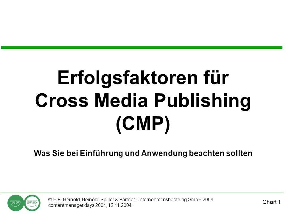 Erfolgsfaktoren für Cross Media Publishing (CMP)