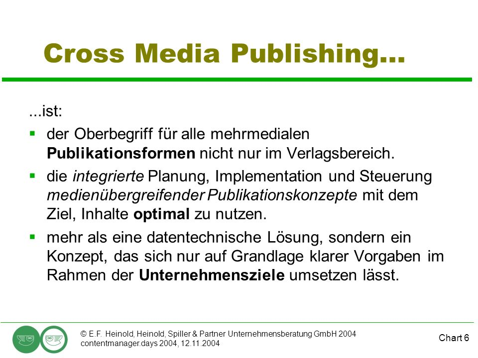 Cross Media Publishing...
