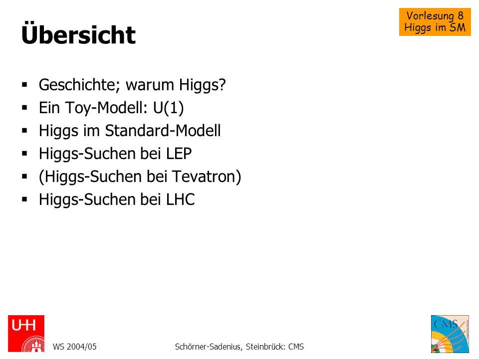 Schörner-Sadenius, Steinbrück: CMS