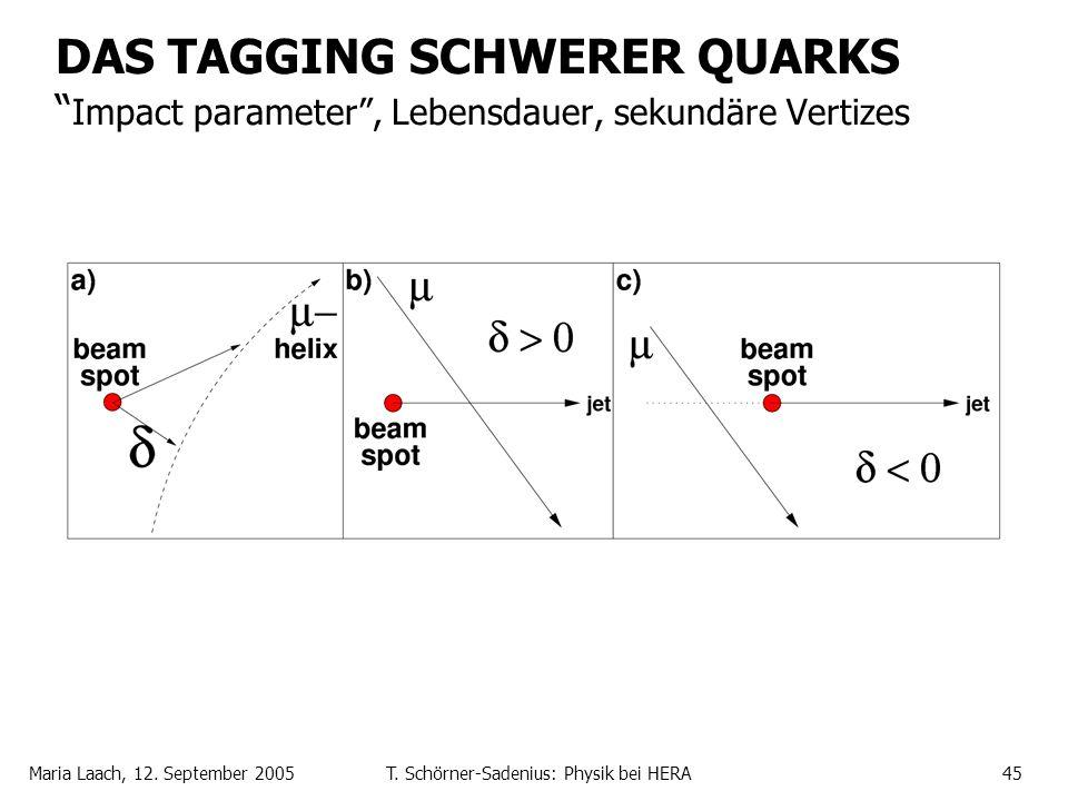 T. Schörner-Sadenius: Physik bei HERA