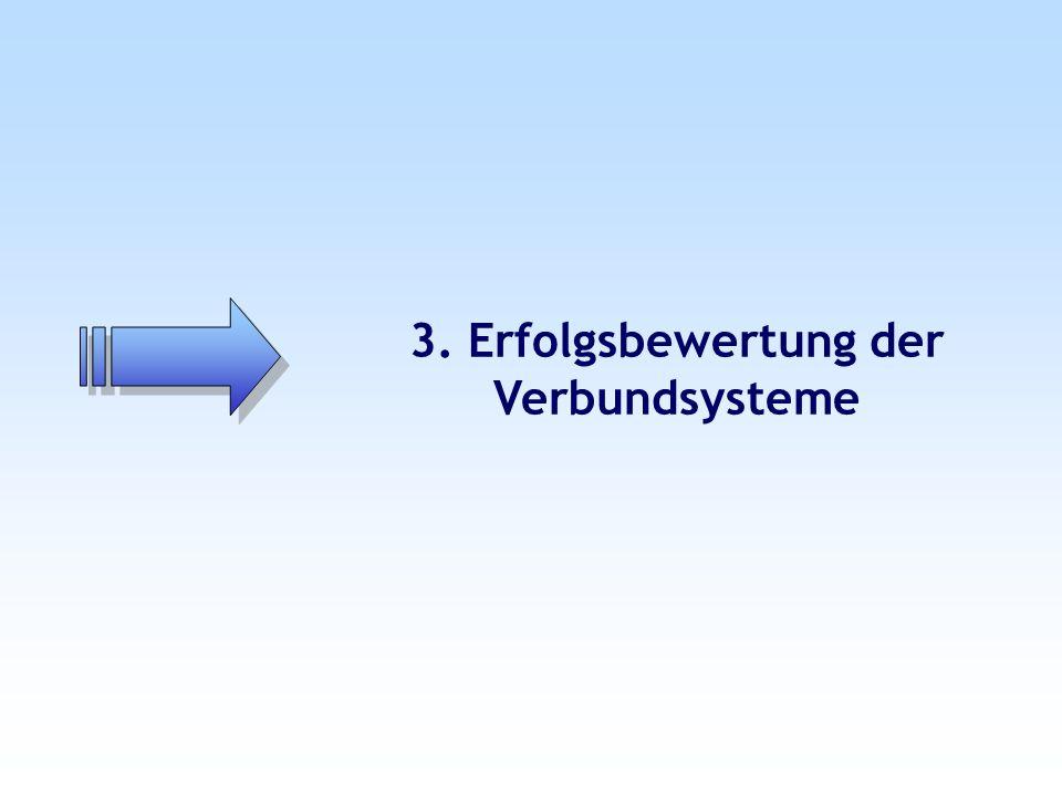 3. Erfolgsbewertung der Verbundsysteme