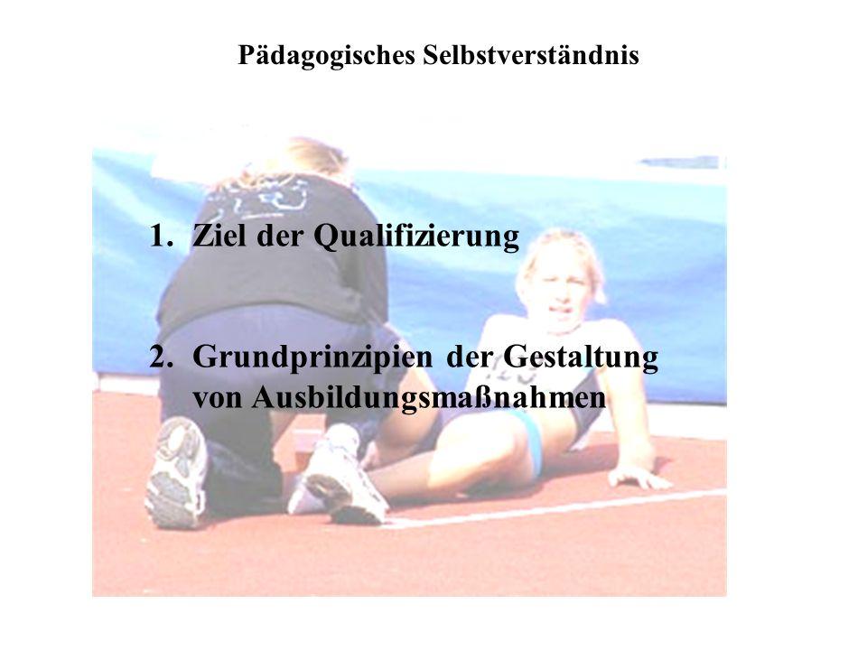 Ziel der Qualifizierung