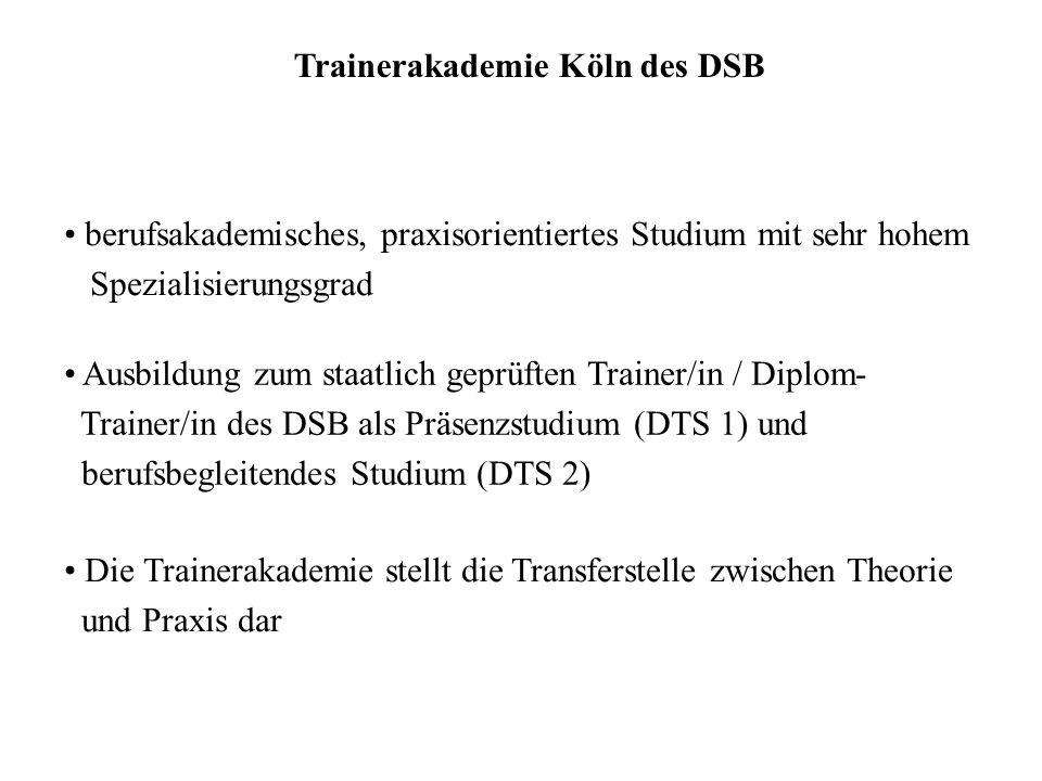 Trainerakademie Köln des DSB