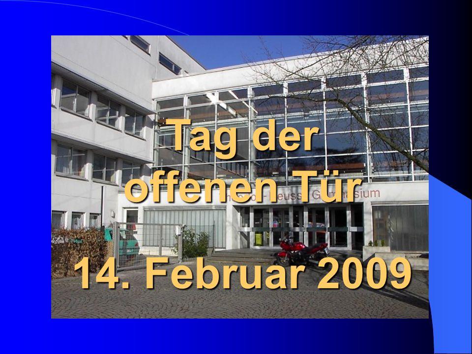 Tag der offenen Tür 14. Februar 2009