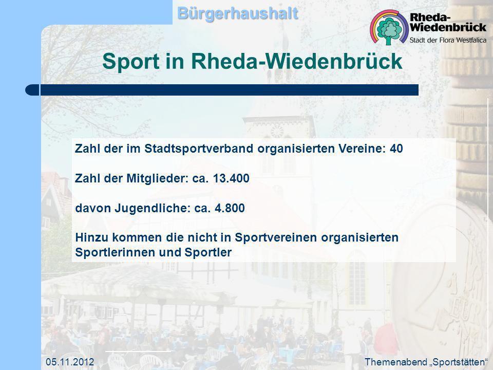 Sport in Rheda-Wiedenbrück