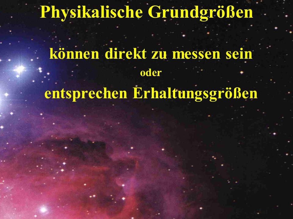 Physikalische Grundgrößen