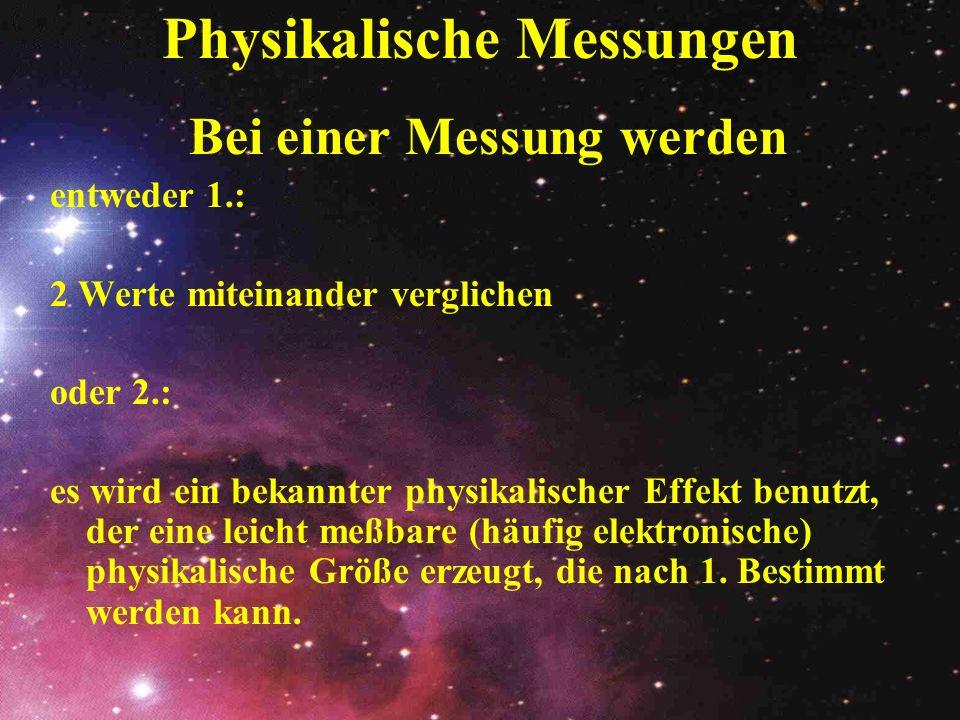 Physikalische Messungen