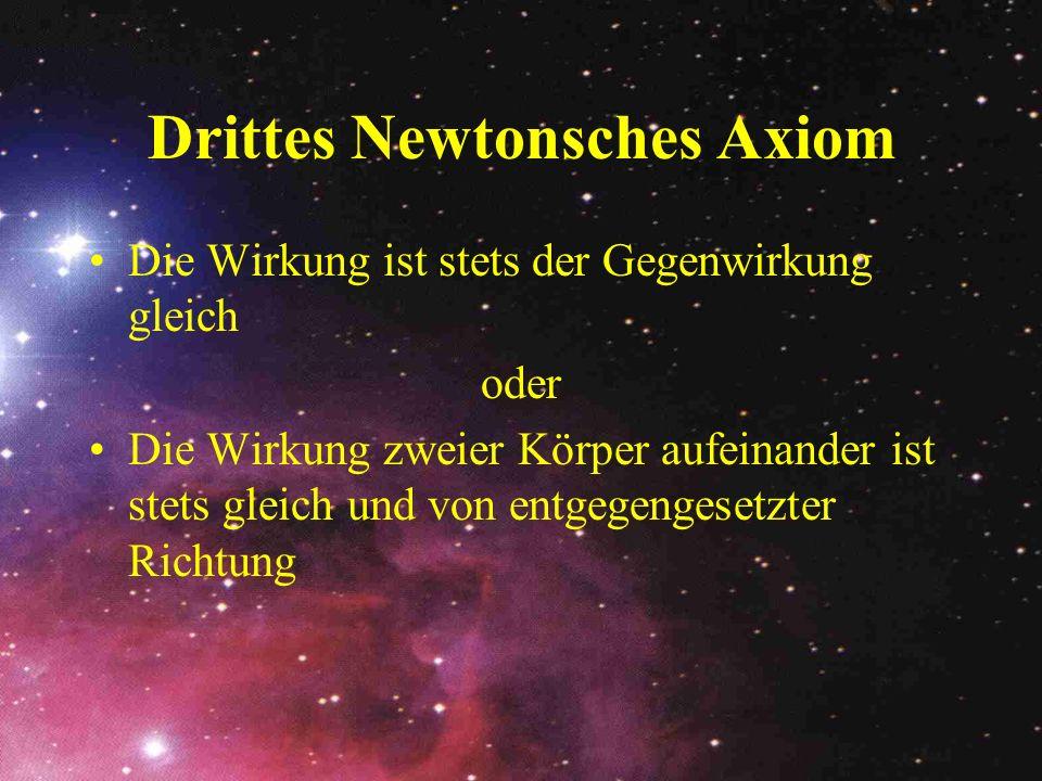 Drittes Newtonsches Axiom
