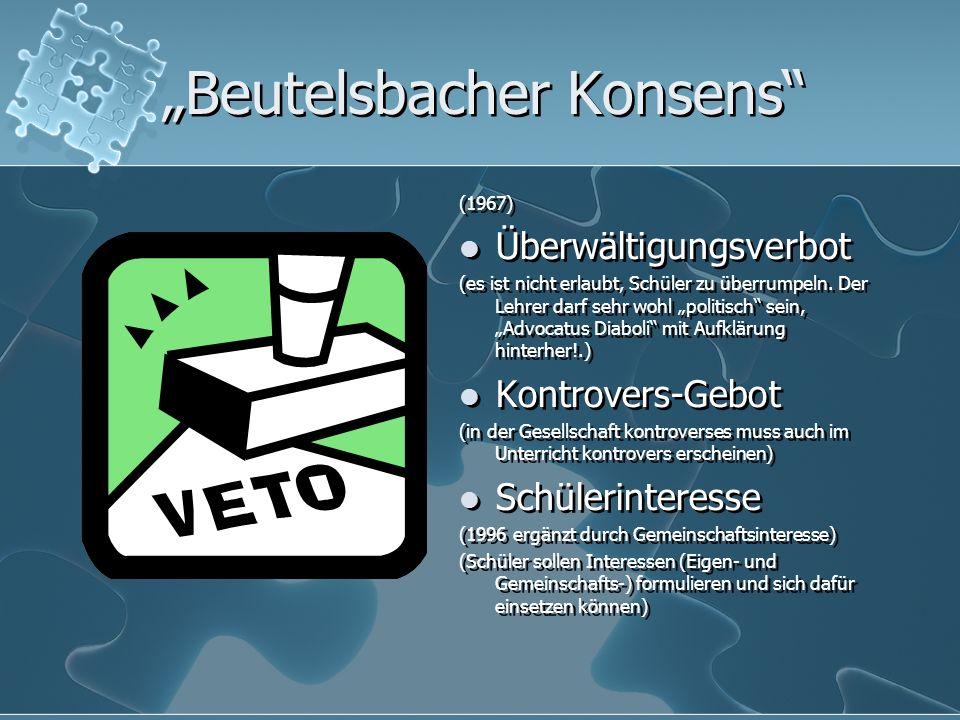"""""""Beutelsbacher Konsens"""