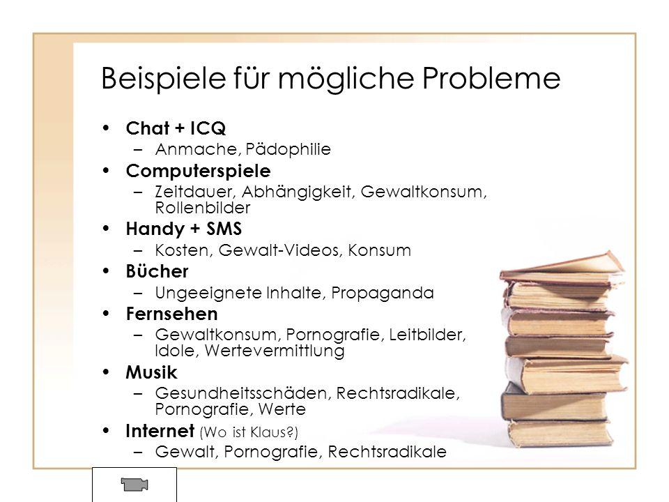 Beispiele für mögliche Probleme