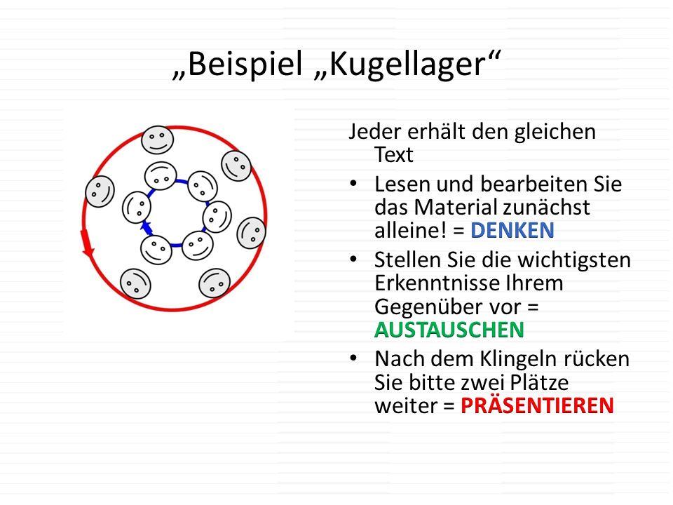 """""""Beispiel """"Kugellager"""