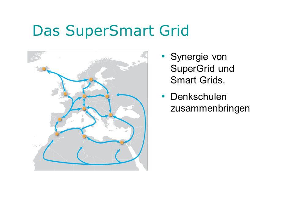 Das SuperSmart Grid Synergie von SuperGrid und Smart Grids.