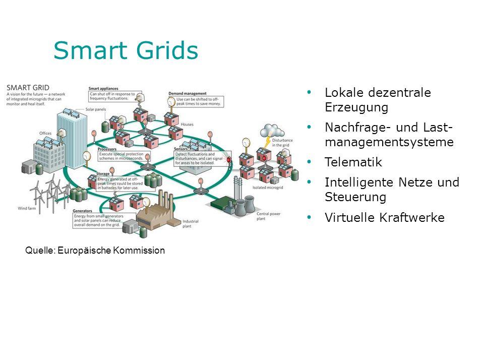 Smart Grids Lokale dezentrale Erzeugung