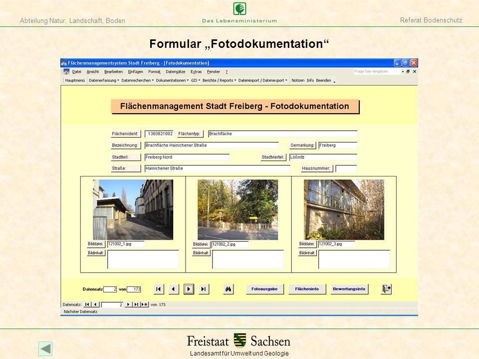 """Formular """"Fotodokumentation"""