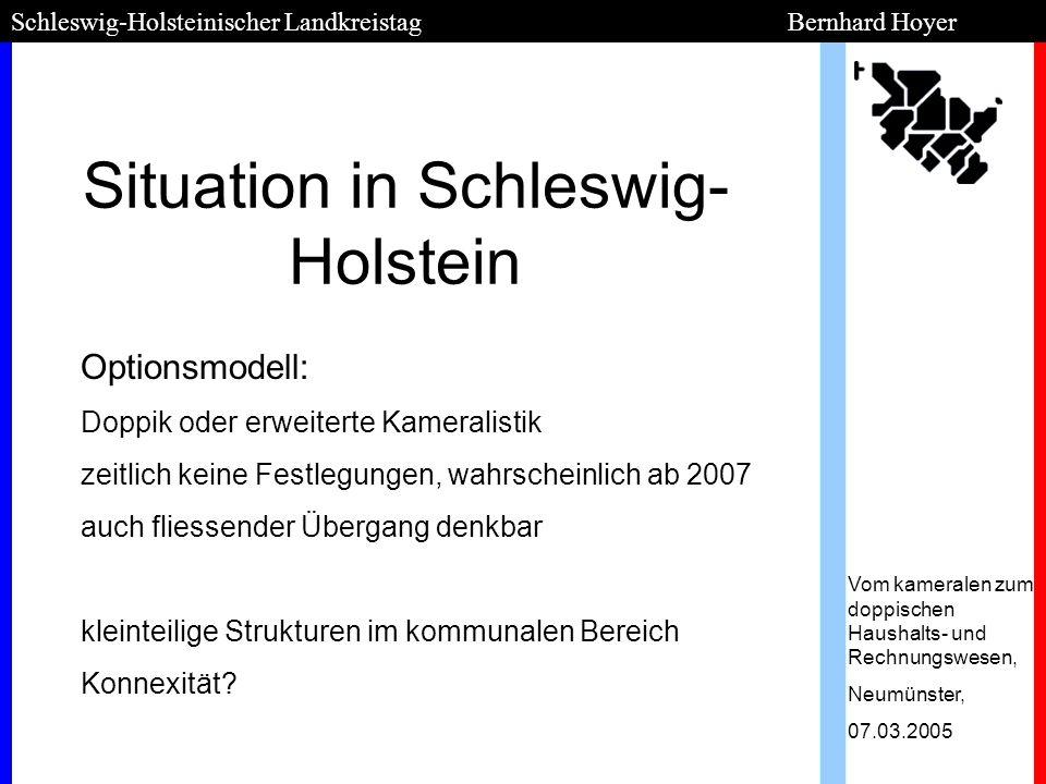 Situation in Schleswig-Holstein