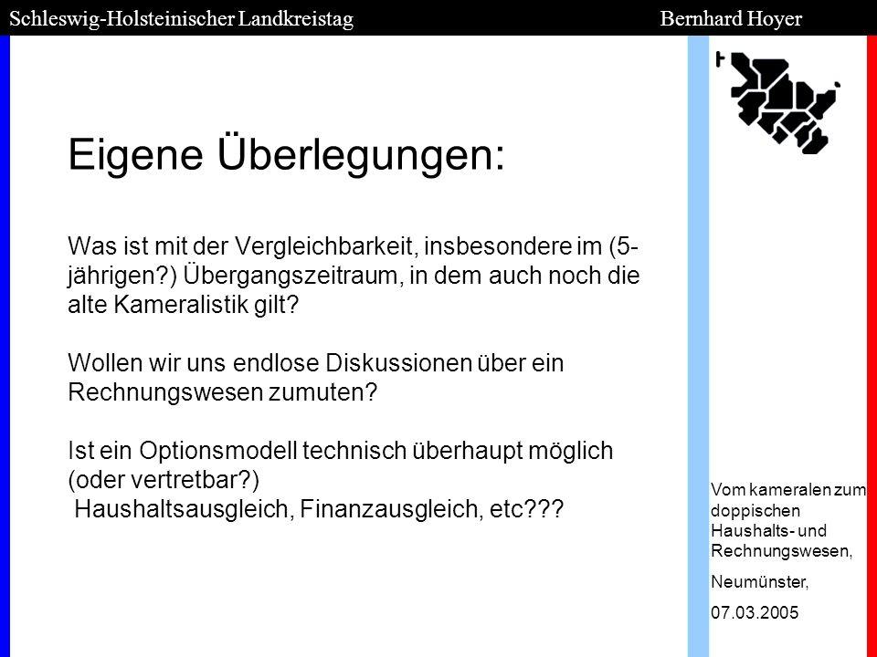 Schleswig-Holsteinischer Landkreistag Bernhard Hoyer