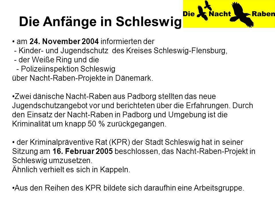 Die Anfänge in Schleswig