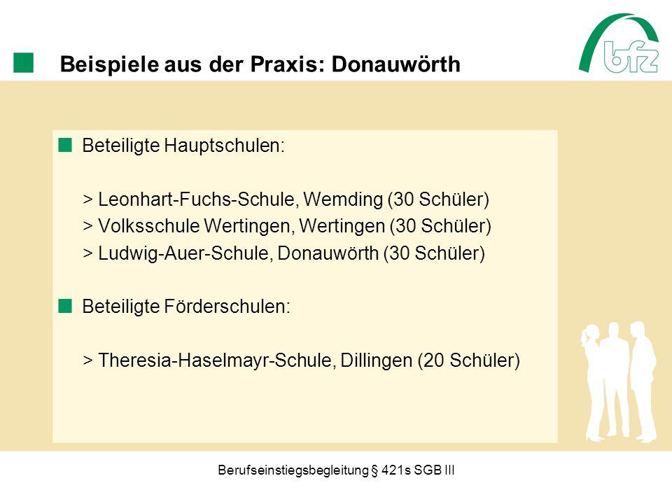 Beispiele aus der Praxis: Donauwörth