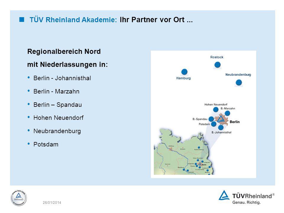 TÜV Rheinland Akademie: Ihr Partner vor Ort ...