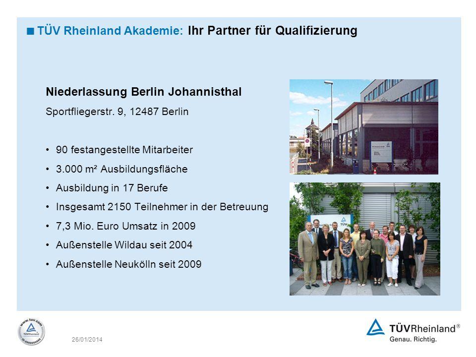 TÜV Rheinland Akademie: Ihr Partner für Qualifizierung