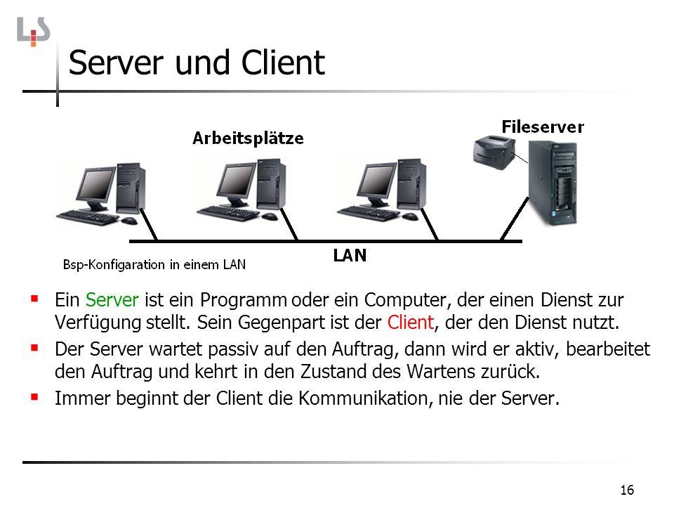 Server und Client