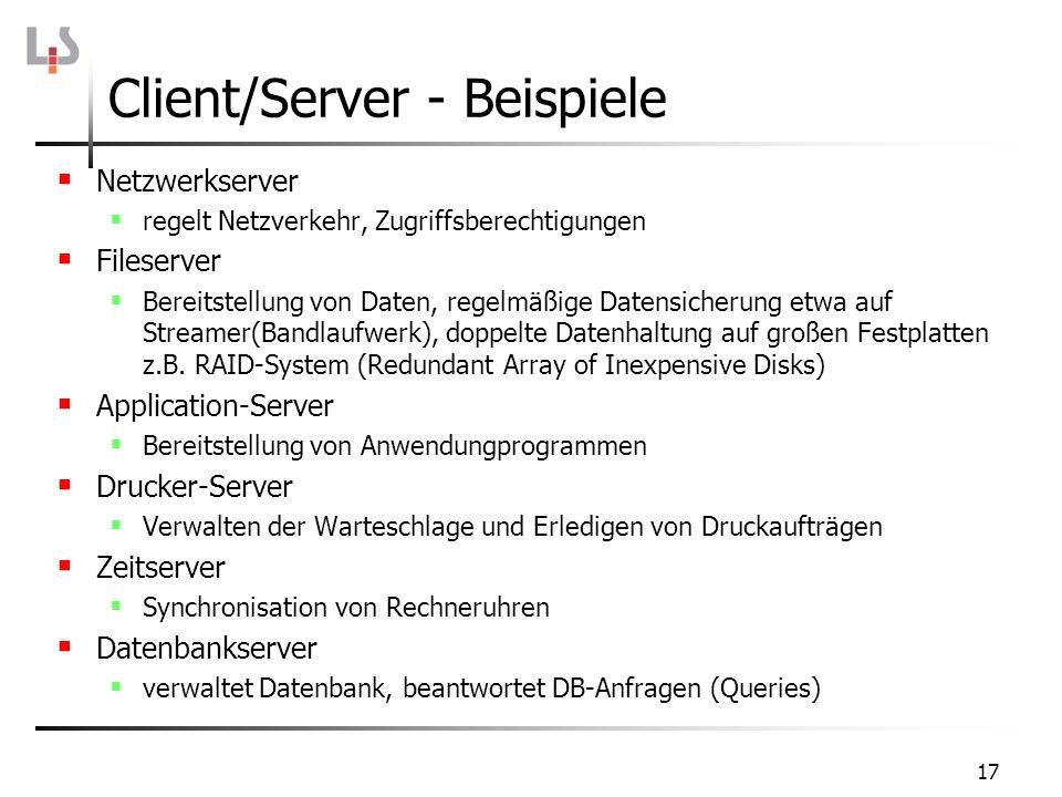 Client/Server - Beispiele