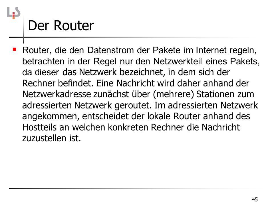 Der Router