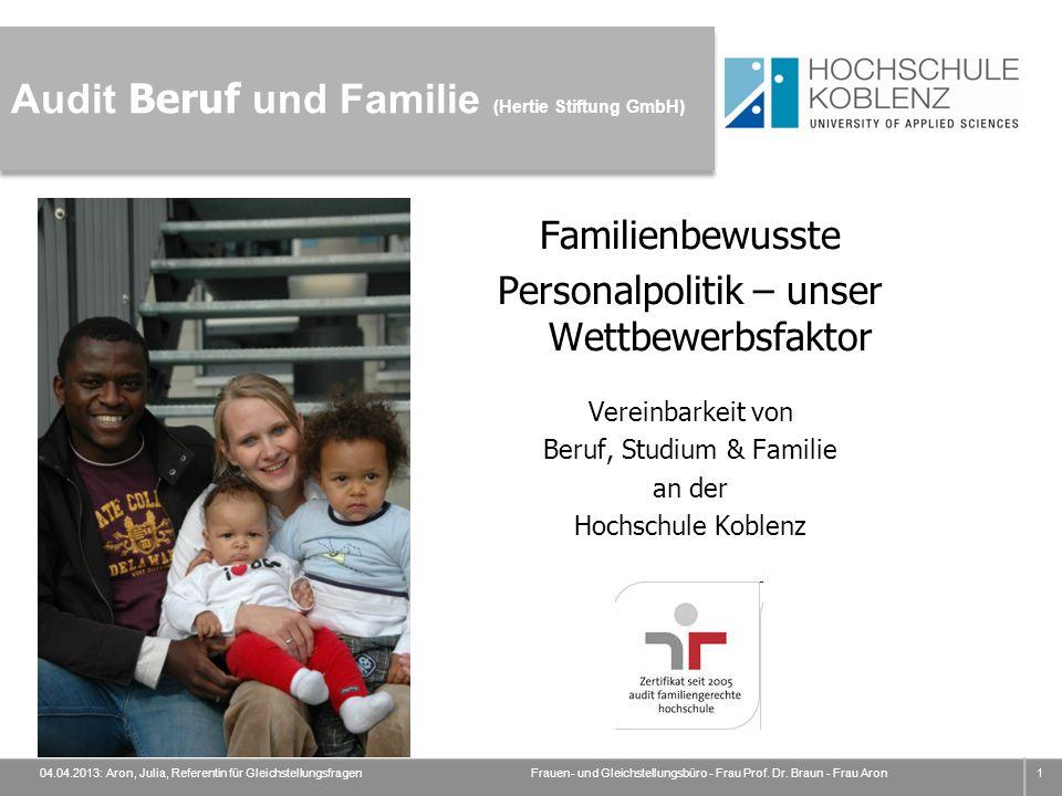 Audit Beruf und Familie (Hertie Stiftung GmbH)