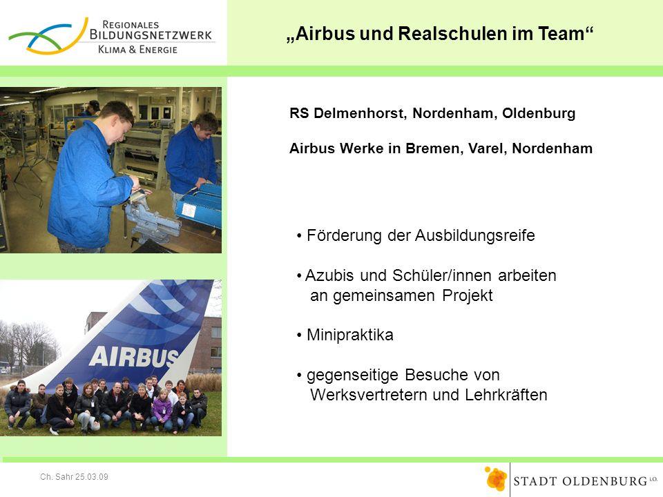 """""""Airbus und Realschulen im Team"""