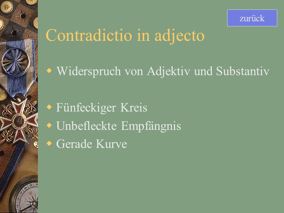 Contradictio in adjecto