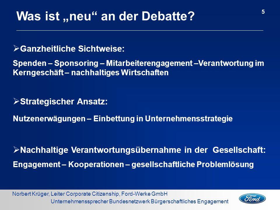 """Was ist """"neu an der Debatte"""