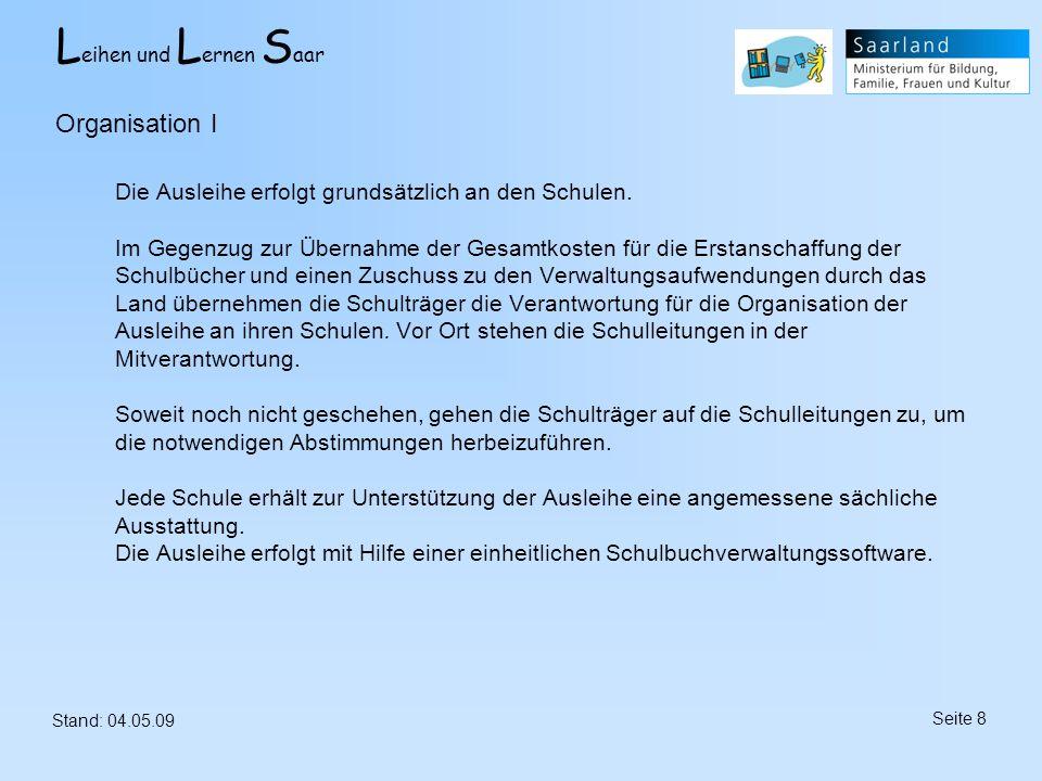 Organisation I