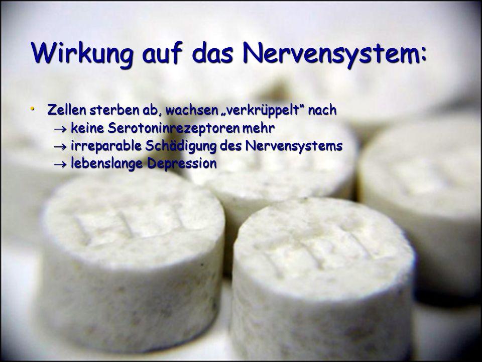 Wirkung auf das Nervensystem: