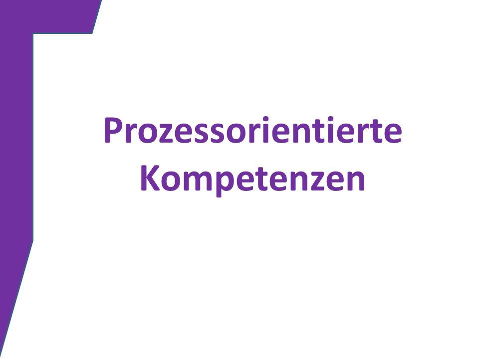Prozessorientierte Kompetenzen